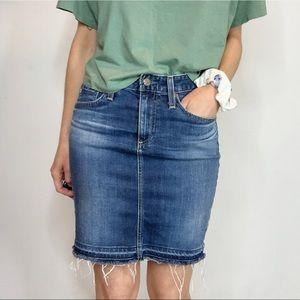AG ADRIANA GOLDSCHMIED The Erin pencil skirt